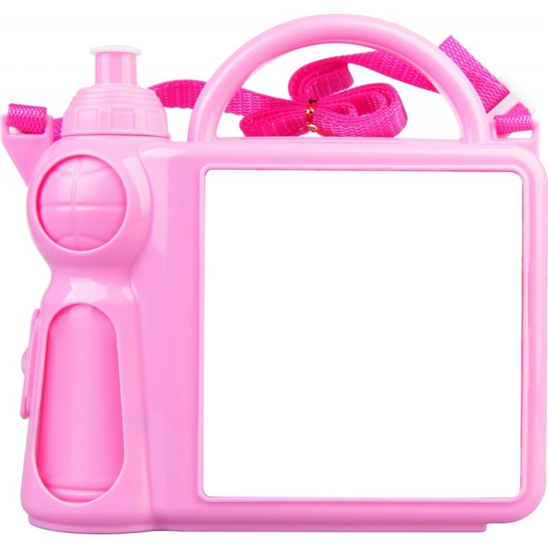 2962c1021 Lancheira de Plástico Rosa Bebê para Sublimação