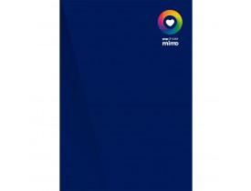 Papel Color Pop Azul Marinho - A4 - 180 g - 05 fls