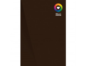 Papel Color Pop Marrom Café - A4 - 180 g - 05 fls