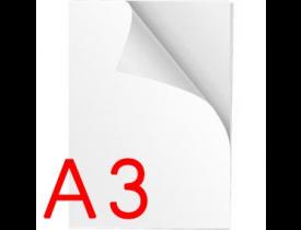 Vinil Adesivo Sublimático Branco A3