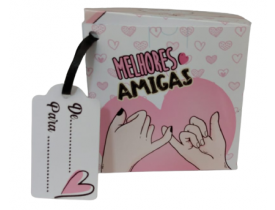 CAIXINHA PARA CANECA MELHORES AMIGAS -10 UNIDADES