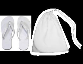 Bag Embalagem de Tecido Sublimático para Chinelo