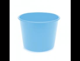 Balde de Pipoca 1,5 litros Azul Bebe Para Personalizar