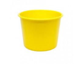 Balde de Pipoca 1,5 litros Amarelo Para Personalizar