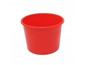 Balde de Pipoca 1,5 litros Vermelho Para Personalizar
