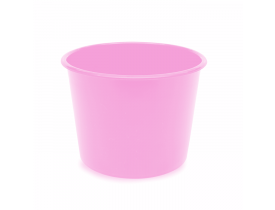 Balde de Pipoca 1,5 litros Rosa Bebe Para Personalizar