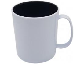 CANECA POLIMERO CAFE INTERNA PRETA PARA SUBLIMAÇÃO