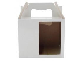 10 Caixinhas Branca Sublimatica C/ Visor Para Caneca