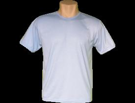 Camiseta Azul Bebe Tradicional 100% Poliester Para Sublimação