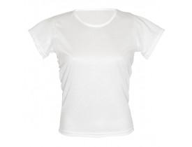 Camiseta Branca Baby Look 100% Poliester Para Sublimação