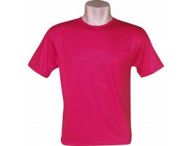 Camiseta Vermelha Tradicional 100% Poliester Para Sublimação