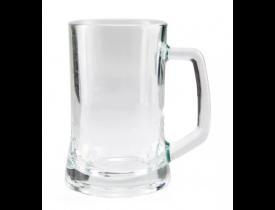 Caneca De Chopp P/ Sublimação - Vidro Cristal 360 ml