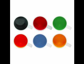 Caneca de Polímero Interior Colorido Para Sublimação