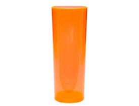Copo Long Drink Laranja Neon 350 ml - Unidade