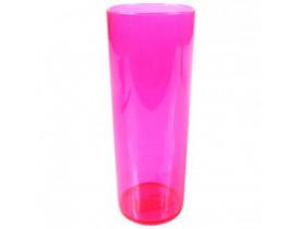 Copo Long Drink Rosa 350 ml - Unidade