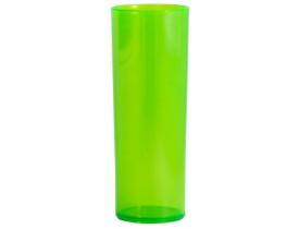Copo Long Drink Verde Neon 350 ml - Unidade