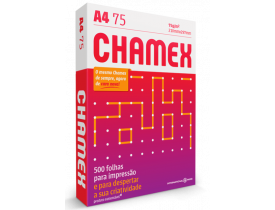 Papel Chamex A4 Office 75grs 500 Folhas
