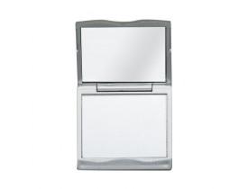 Espelho de Bolso Duplo com Aumento para Personalizar