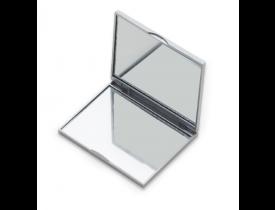 Espelho Plástico Duplo Sem Aumento 8,3 cm x 6,7 cm