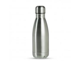 Garrafa Térmica em Aço Inox Prata - 350ml Para Sublimação
