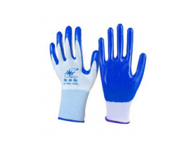 Luva Revestida de Nitrilho - Segurança para as Mãos