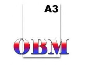 Papel OBM Tamanho A3