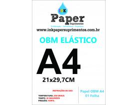 PAPEL OBM A4 ELÁSTICO 01 FOLHA