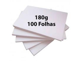 Papel Offset 180g A4 Pacote 125 Folhas