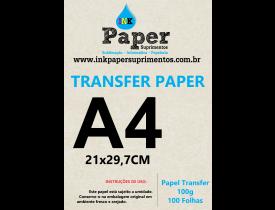 Papel Transfer Laser 100g Pacote com 500 Folhas - TRANSFER PAPER