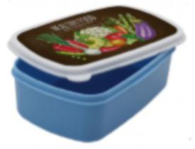 Tapoer Marmita Retangular Para Sublimação - Azul