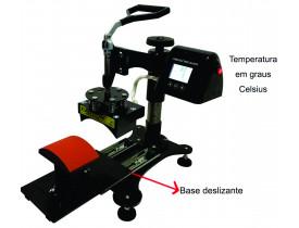 Prensa Termica Digital Para Bonés 110v