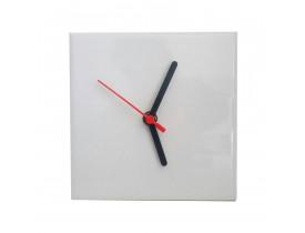 Relógio de Azulejo Para Sublimação 20x20 cm