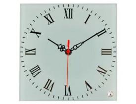 Porta Retrato em Vidro Com Relógio para Sublimação