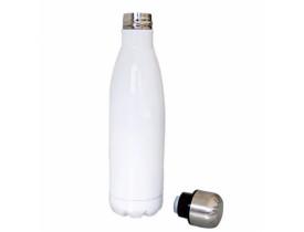 Garrafa Térmica para Sublimação em Aço Inox Branca - 350ml