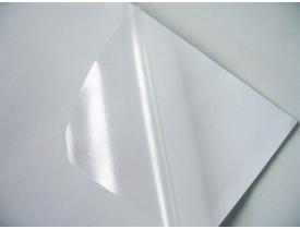 Vinil Adesivo Sublimático Transparente A4 -- UNIDADE
