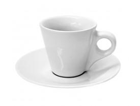 Xícara Cônica de Café com Pires Para Sublimação 90ml